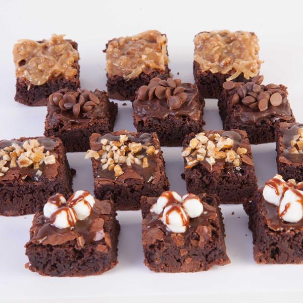 Brownies surtidos
