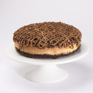 Baked Turtle Cheesecake