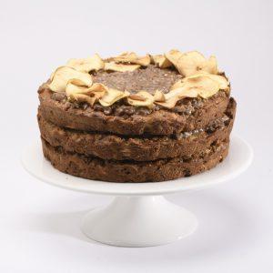 Cake Integral de Manzana con Splenda