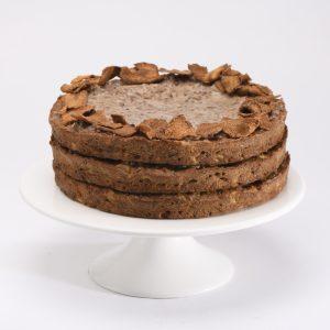 Cake Integral de Zanahoria con Splenda