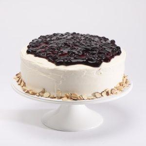 Cake de Blueberry