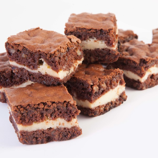 Brownies con Queso