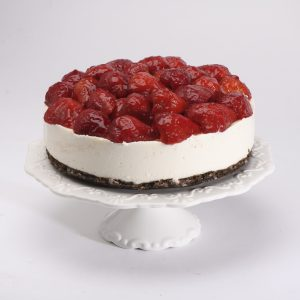 No-Bake Cheesecake Fresas