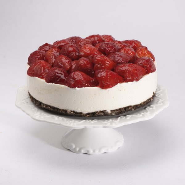 No-Bake Cheesecake Fresas