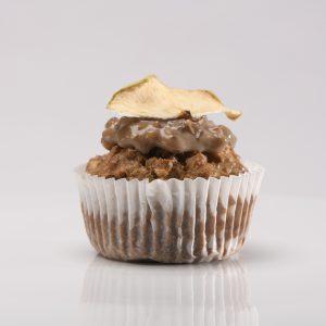 Cupcake Integral de Manzana con Splenda