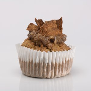 Cupcake Integral de Zanahoria con Splenda