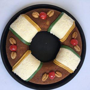 Rosca de Reyes de Zanahoria