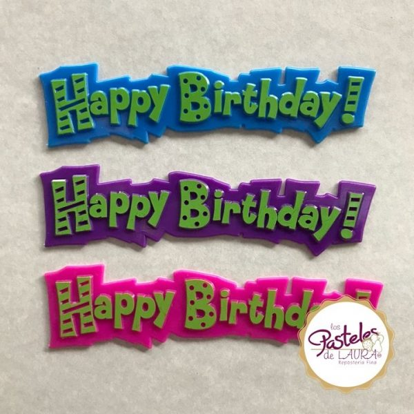 Topper Happy Birthday!