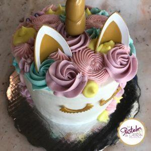 Rosette Unicorn Cake