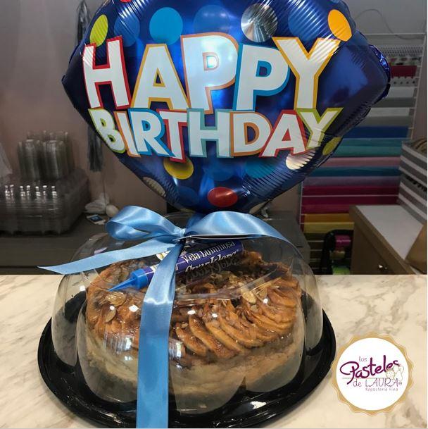 Cheesecake de Manzana con Globo