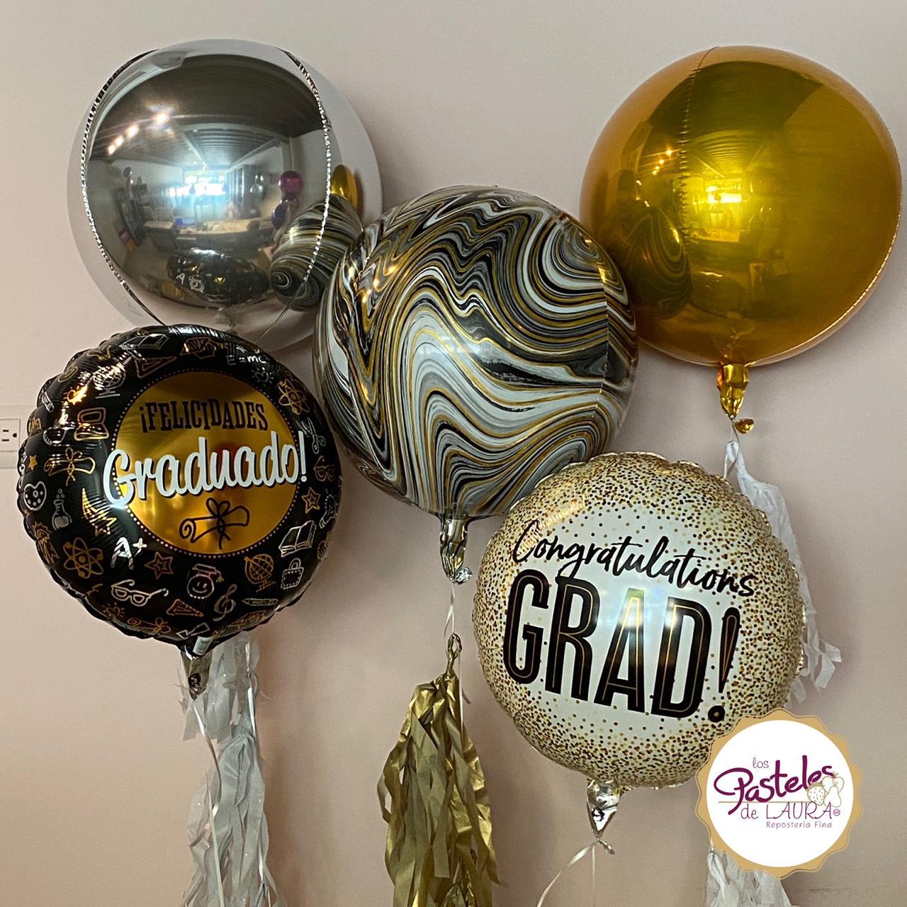 Globos Congratulations Grad!