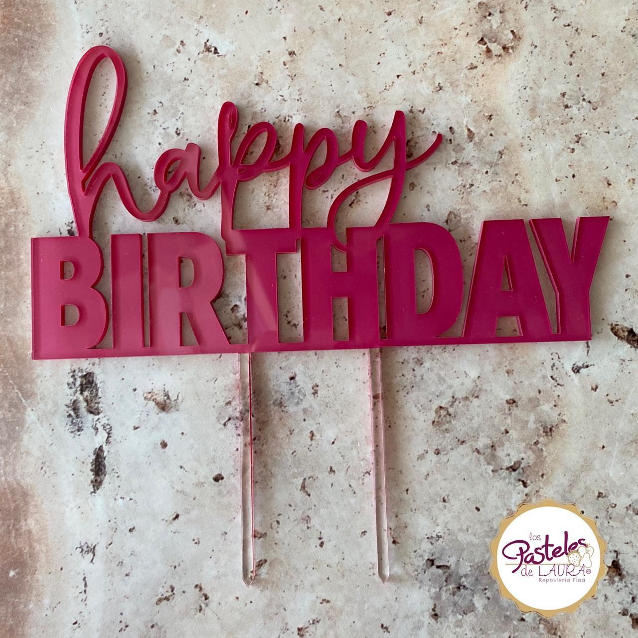 Birthday Celebration Cake Topper