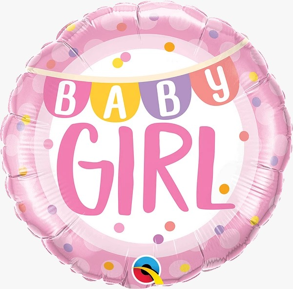 baby-girl-banner-and-dots