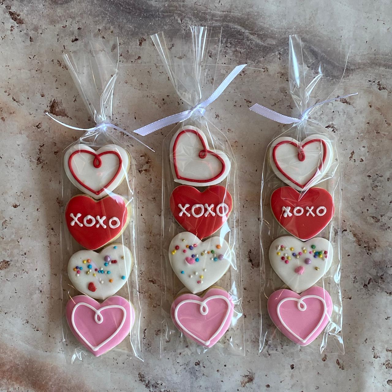 Mini Galletas Valentines
