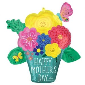 Hapy Mothers Day Pretty Flower Pot 26